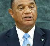Perry Christie, Prime Minister and Minister of Finance of The Bahamas. UN Photo/Ryan Brown