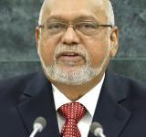 Donald Ramotar, President of Guyana