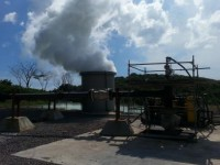 One of the geothermal wells (MON-01) in Montserrat