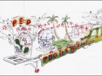 An artist impression of the PEP float for Carnival Parade on January1.