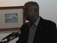 Minister of Tourism Hon. Richard Skerritt,