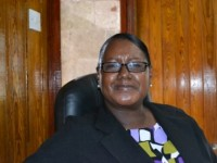 Sandra Maynard, Director of Social Services in the Ministry of Social Development on Nevis