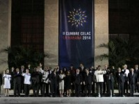 Leaders at the second Community of Latin American and Caribbean States summit. CELAC photo