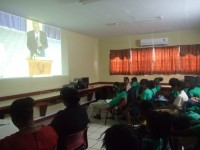 Cayon High School  interacts with other schools via EduNET