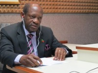 : St. Kitts and Nevis' Prime Minister the Rt. Hon. Dr. Denzil L. Douglas during his weekly radio programme