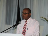 : Laurie Lawrence, Permanent Secretary in the Ministry of Finance, Nevis Island Administration