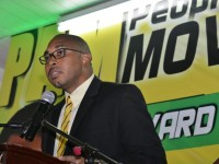 Deputy Political Leader of the People's Action Movement  Jonel Powell