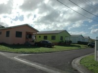 SKNEF - Newton Ground homes (St. Kitts).