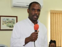 Acting Permanent Secretary in the Ministry of Finance in the Nevis Island Administration Colin Dore