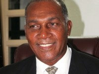 Premier of Nevis Hon. Vance Amory at his Bath Plain office on July 10, 2014