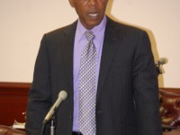 Deputy Prime Minister and Minister of Public Utilities, the Hon. Dr. Earl Asim Martin (Photo by Erasmus Williams)