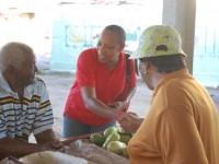 Marcella - market vendors