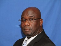 Minister of Energy and Natural Resources in the Nevis Island Administration Hon. Alexis Jeffers