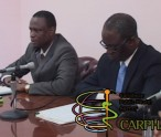 Minister Carty and Dr. Olowokure