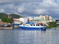 St Kitts - ferry docking
