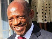 St. Kitts and Nevis' Prime Minister and Minister of Finance the Rt. Hon. Dr. Denzil L. Douglas
