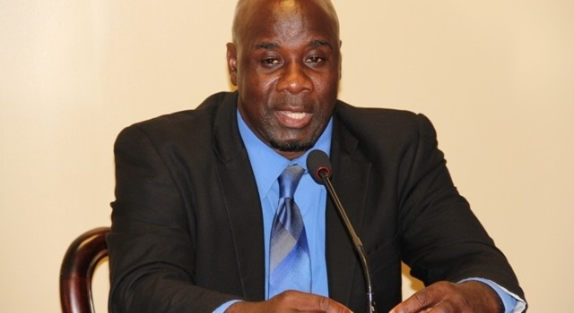 Hon. Alexis Jeffers, Minister responsible for Public Utilities in the Nevis Island Administration
