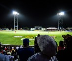 Fans enjoy a CPL match at Warner Park
