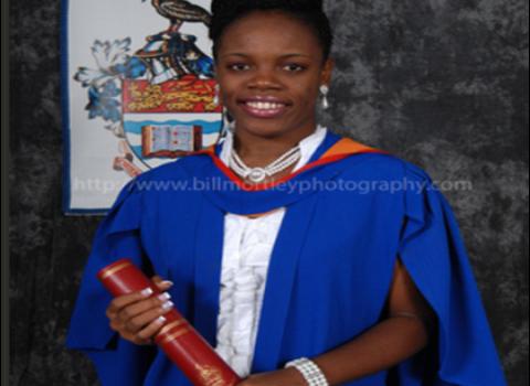 Miss Shinel Dore of Stoney Grove Nevis
