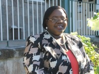 Junior Minister in the Ministry of Social Development responsible for the Department of Social Services Seniors Division Hon. Hazel Brandy