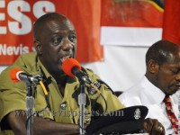 Commissioner of Police of the Royal St. Christopher and Nevis Police Force, Mr. Celvin 'CG' Walwyn