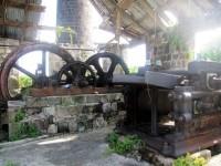 New River Coconut Walk Estates in Nevis, Sugar Mill Ruins