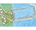 Artist's impression of Tamrind Cove Marina, Nevis