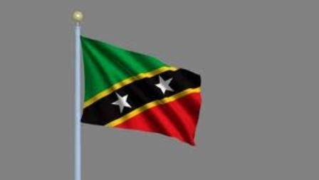 st kitts nevis flag new