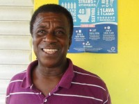 Head Coach of the Charlestown Primary School, Elquemedo Willet