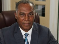 Premier of Nevis Hon. Vance Amory at his Bath Plain office on July 30, 2015