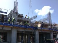 Construction Workers at Park Hyatt