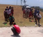 Scenes from inaugural field activities for inter primary 2015