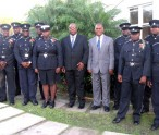 PM Harris, Premier Amory and police awardees