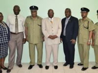 PM Harris meeting with Police