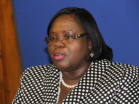 Junior Minister of Youth and Sports on Nevis Hon. Hazel Brandy-Williams