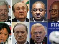 The Fifa executives indicted include Rafael Esquivel, Nicolas Leoz, Jeffrey Webb, Jack Warner, Eduardo Li, Eugenio Figueredo and Jose Maria Marin