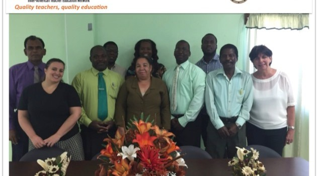 Representatives of the OAS-ITEN and Ministries of Education OECS Countries.