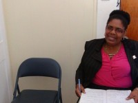Miss Joyce Moven--Deputy Director Social Services Department
