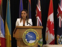 Michelle Cross Fenty, Director of Projects, at CDB.