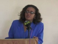 St.Kitts-Nevis Minister of Health the Hon. Wendy Coleen Phipps