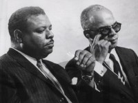 Pictured are Errol Barrow and Dr Eric Williams, two of the four regional leaders who signed the Treaty of Chaguaramas on July 4, 1973, to establish the Caribbean Community