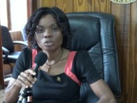 Tourism Education Officer in the Ministry of Tourism Vanessa Webbe