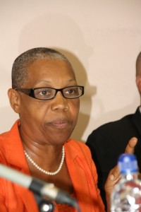 Minister of Health Hon. Marcella Liburd