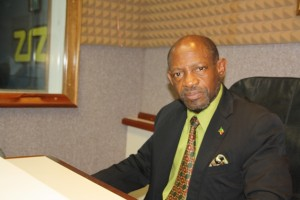 Prime Minister and Minister of Finance, the Rt. Hon. Dr. Denzil L. Douglas (Photo by Erasmus Williams)
