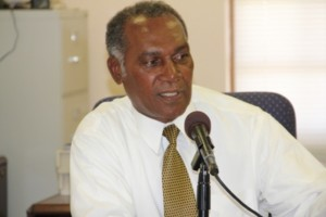 Premier of Nevis and Minister of Finance in the Nevis Island Administration Hon. Vance Amory