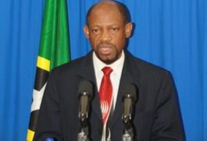 St. Kitts and Nevis' Prime Minister the Right Hon. Dr. Denzil L. Douglas