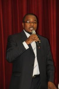 Medical practitioner, Dr. Vance Gilbert
