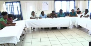 A section of the health workers present at the workshop