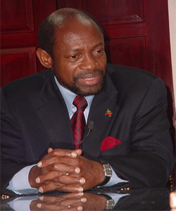 Chairman of the Monetary Council of the Eastern Caribbean Central Bank (ECCB), Prime Minister of St. Kitts and Nevis and Minister of Finance, the Rt. Hon. Dr. Denzil L. Douglas