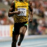Usain Bolt of Jamaica wins world 100m title in Moscow - .